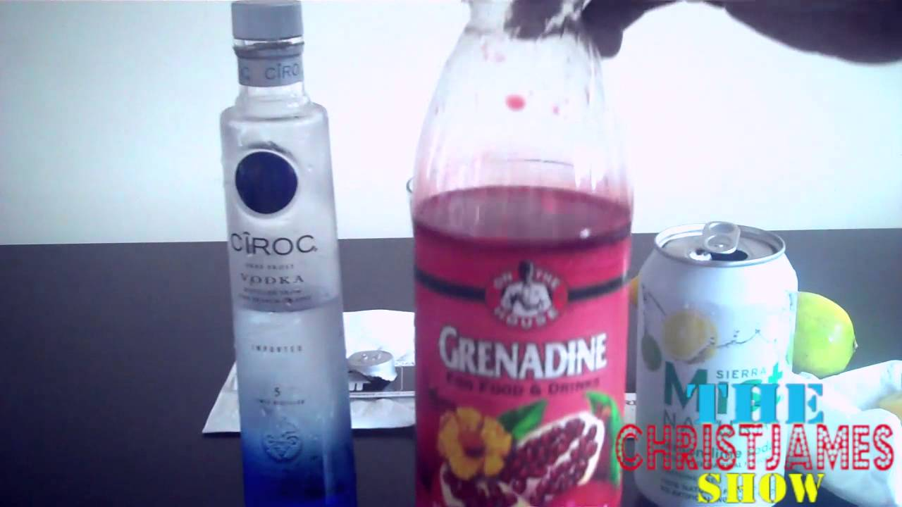 "Diddy new CIROC VODKA  Mix Drink Tutorial :""Excuse Me Miss ""  Bartender World Pt 1"