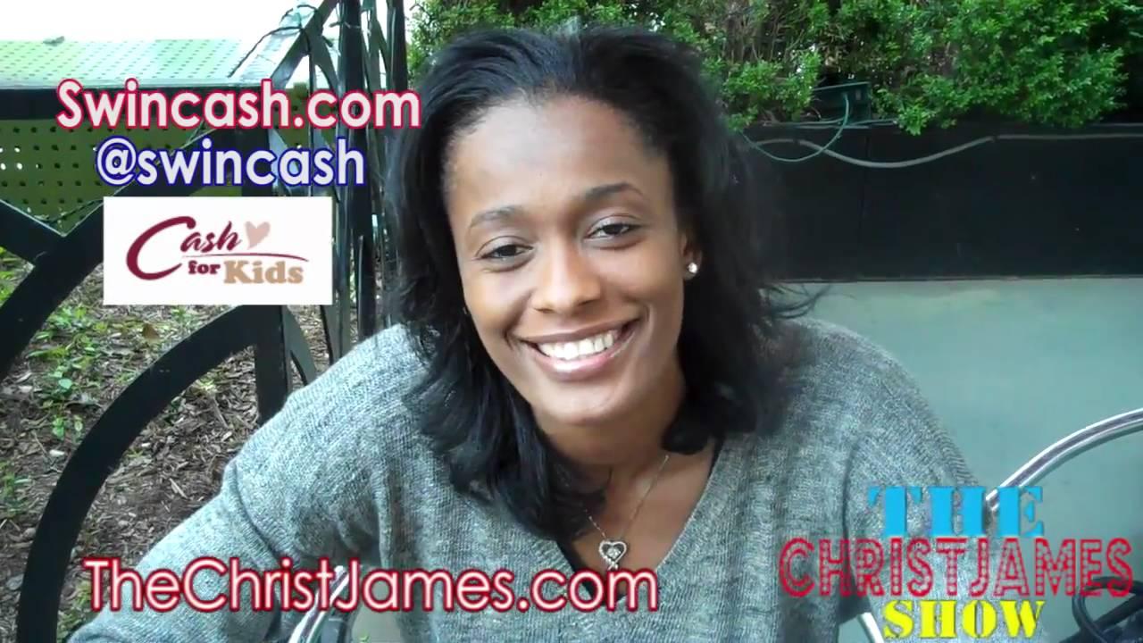 Swin Cash ( Wnba  ) – Speaks BasketBall, Charity , Miss Independent Woman Movie