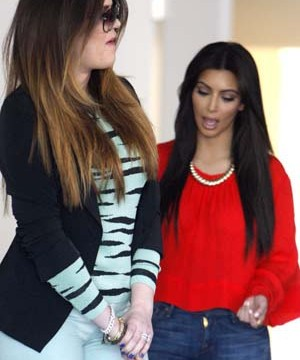 Kim K Calls Out Khloe For Dating '50 Rappers'