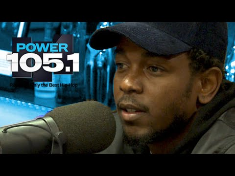 Kendrick Lamar Interview at The Breakfast Club Power 105.1