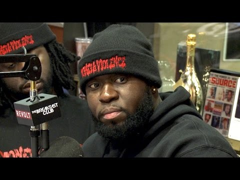 "Cast of ""Money & Violence"" Interview at The Breakfast Club Power 105.1"