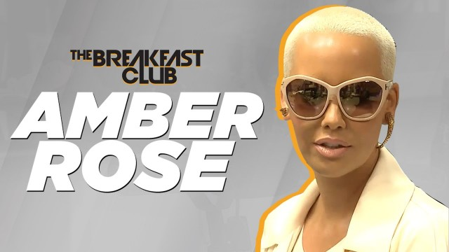 Amber Rose Interview at The Breakfast Club Power 105.1