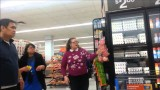 Old lady fight at Walmart