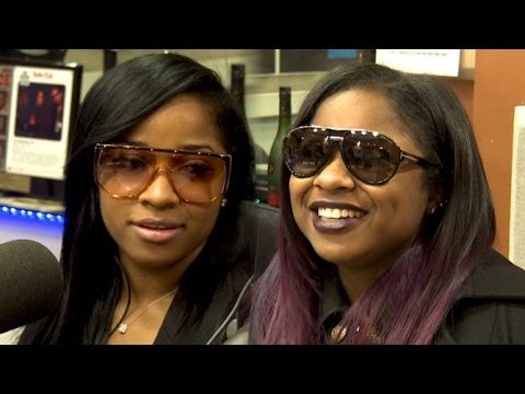 Toya Wright and Reginae Carter Interview at The Breakfast Club Power 105.1