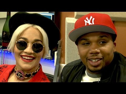 Rita Ora and Charles Hamilton Interview at The Breakfast Club Power 105.1