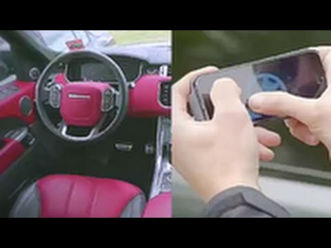 Range Rover Gets Driven With A Smartphone App!