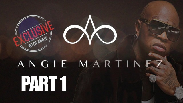 Birdman's Exclusive Interview with Angie Martinez Power 105.1 [Part 1]