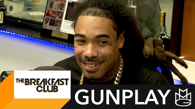 Gunplay Interview at The Breakfast Club Power 105.1