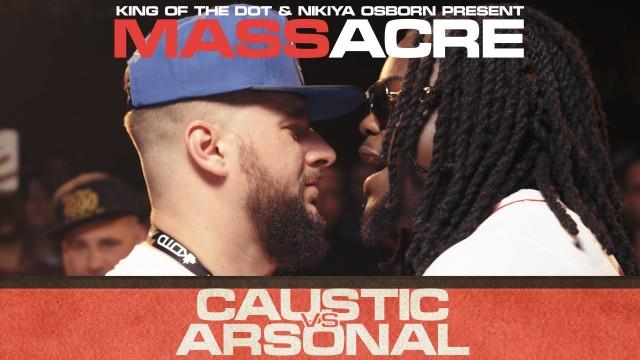 KOTD – Rap Battle – Caustic vs Arsonal