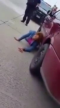 """WTF: Lady laid out on the HIGHWAY demanding that you """"BRING THAT D?CK OVER HERE!"""""""