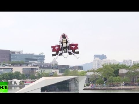 First commercial jetpack unveiled, to hit stores in 2016 RT