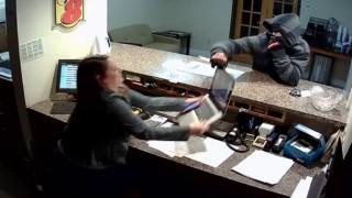 Robbery Fail At Motel