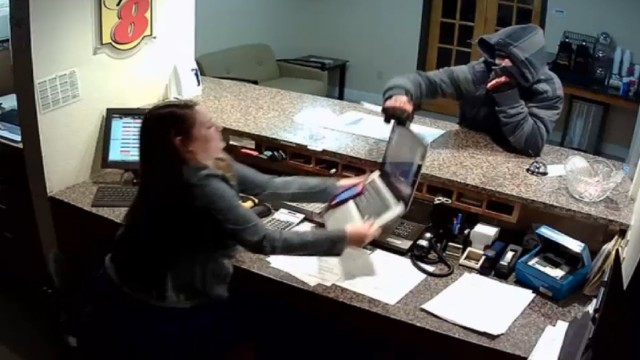 Robbery Fail At Motel